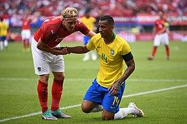 20180610 FIFA Friendly Match Austria vs. Brazil Schlager Danilo 850 0071.jpg