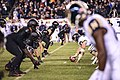 2018 Army-Navy football game line of scrimmage (46211618112).jpg