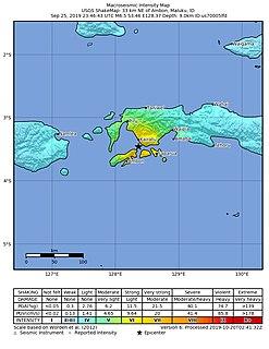 2019 Ambon earthquake