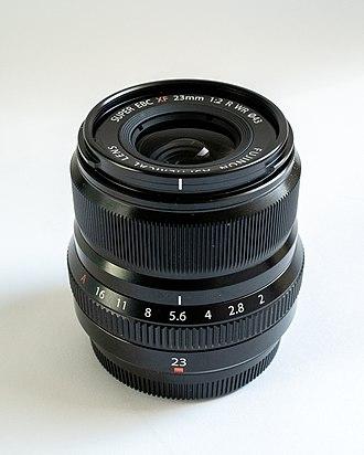 Fujifilm X-mount - The 23mm f/2.0 Fujifilm X-mount