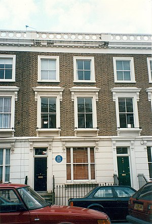 23 Fitzroy Road, London : The house where Sylv...