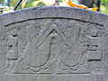 251012 Detail of tombstones at Jewish Cemetery in Warsaw - 06.jpg