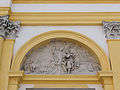 281012 Mythological scene as a bas-relief on the western facade of the Wilanów Palace - 03.jpg