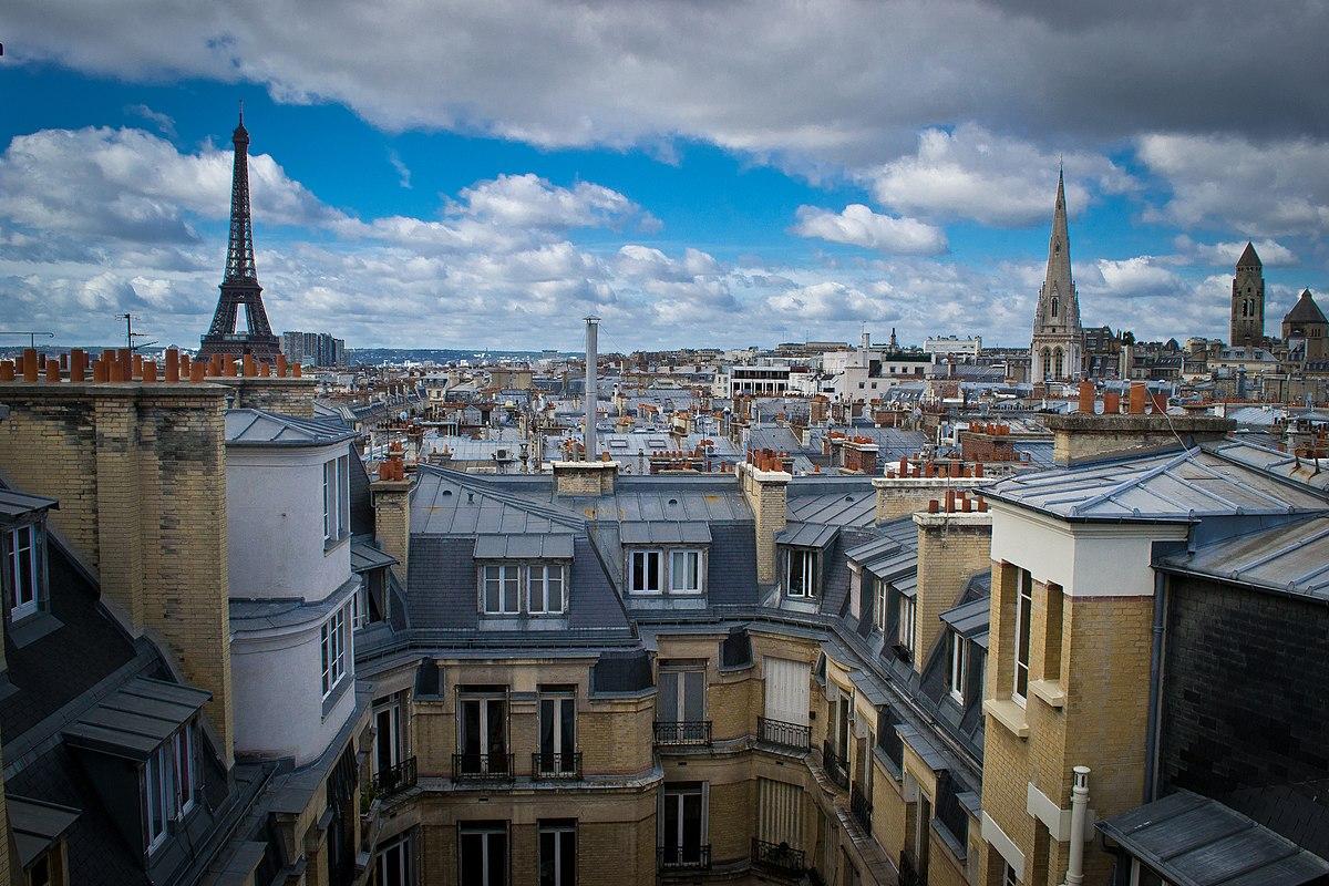 Caracteristique D Un Immeuble Haussmannien toits de paris — wikipédia