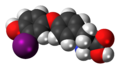 3'-Monoiodothyronine 3D spacefill.png