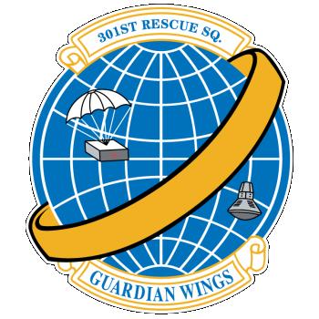 301 Air Rescue Sq emblem