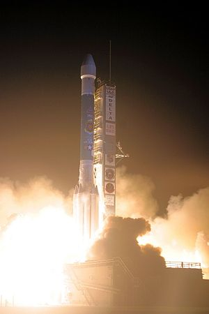 310th Space Wing - A United Launch Alliance Delta II rocket blasts off with the Air Force's Global Positioning System IIR-21 satellite from Space Launch Complex-17A