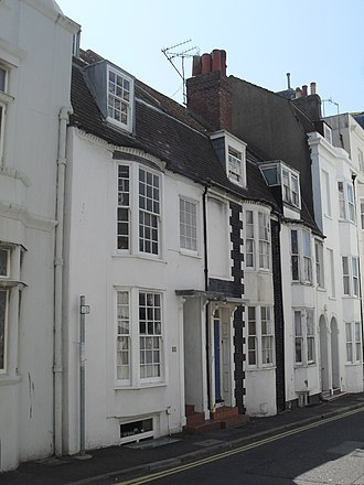 Grade II listed buildings in Brighton and Hove: C–D - Image: 33–35 Camelford Street, Brighton (Io E Code 479518)