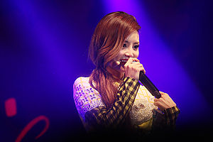 Miryo - Miryo at Brown Eyed Girls' Tonight 37.2℃ concert on December 24, 2012