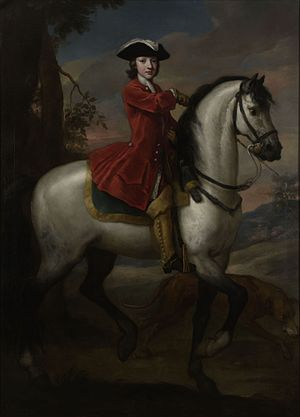 Charles Spencer, 3rd Duke of Marlborough - A young Charles Spencer, painted by John Vanderbank.