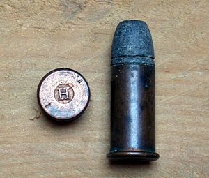 Rimfire ammunition - Cartridge .44-Henry-Flat