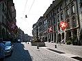 4568 - Bern - Gerechtigkeitsbrunnen am Gerechtigkeitsgasse.JPG