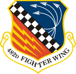 482nd Fighter Wing - Image: 482d Fighter Wing