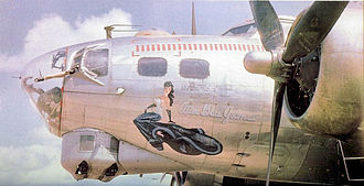 Ken Kavanaugh - Boeing B-17G Alice Blue Gown of the 851st Bomb Squadron