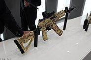5,45mm AK-12 6P70 assault rifle at Military-technical forum ARMY-2016 01
