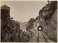 508. Vossebanen, Parti med Tunnel mellem Tr. og Vaksdal (23058627866).jpg
