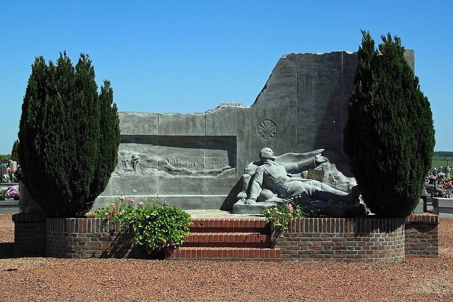 CYSOING - Monument aux Morts, Cimetière, rue Salvator Allende, 59 Cysoing