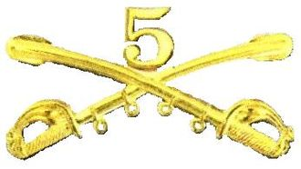 5th Cavalry Regiment - 5th Regiment United States Cavalry insignia