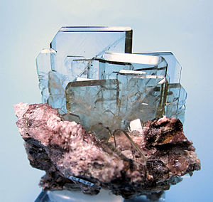 Alkaline earth metal - Barite, the material that was first found to contain barium.