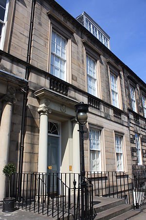 George Moir - Moir's charming townhouse at 63 Northumberland Street, Edinburgh