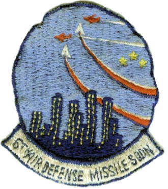 6th Tactical Missile Squadron - Patch of the 6th Air Defense Missile Squadron