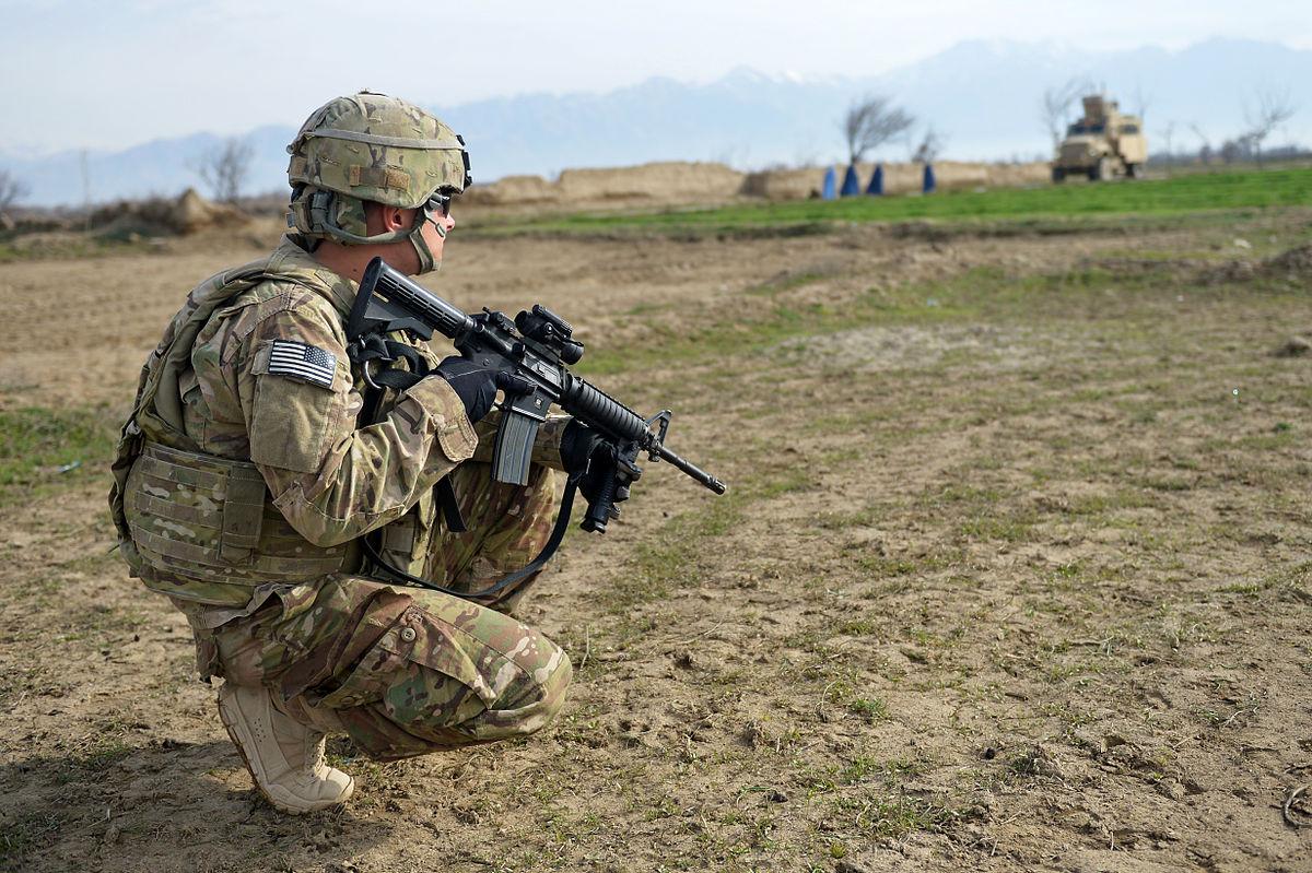 File 755th Esfs Members Patrol Near Bagram Jpg Wikimedia Commons