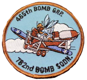 782d Troop Carrier Squadron - Emblem of the 782d Bombardment Squadron