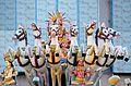 7 horses and the Hindu sun god Surya.jpg