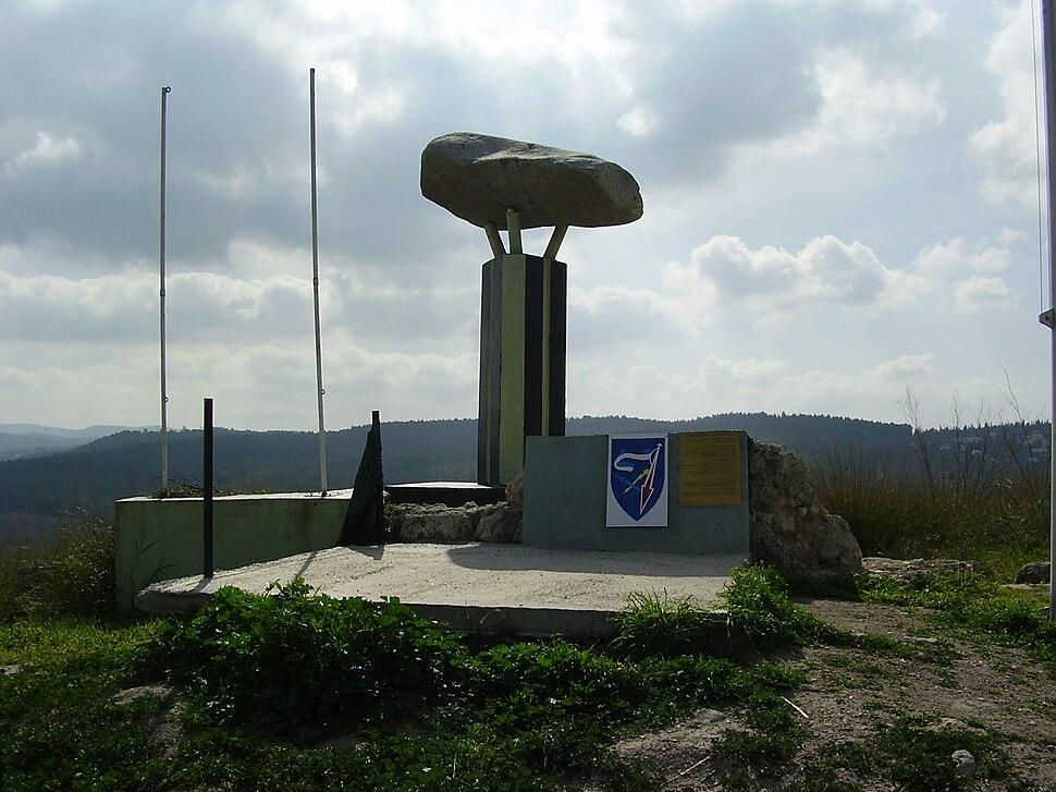 7th Armored Brigade Memorial in Latrun, Israel