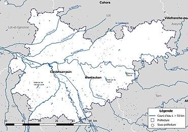 rivière du tarn carte