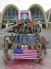 The MEDEVAC crew in Afghanistan. American DUSTOFF guys on your service