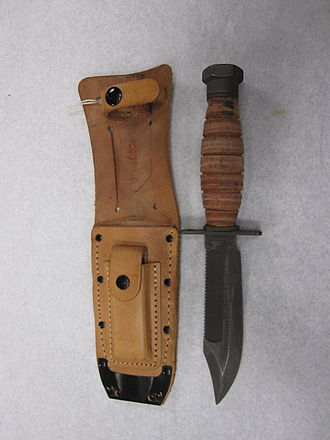 Aircrew Survival Egress Knife - Original Survival Knife developed in 1958