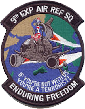 9th Air Refueling Squadron - 9 EARS Morale Patch