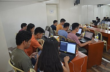 9th Waray Wikipedia Edit-a-thon 21.JPG