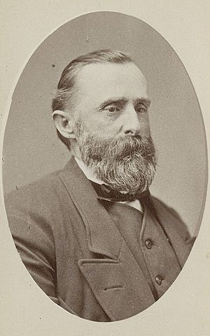 A. Milton Musser - A. Milton Musser in May 1873