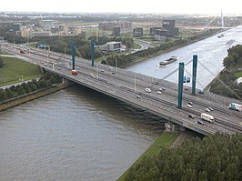 Galecopperbrug over het Amsterdam-Rijnkanaal (28 september 2004)