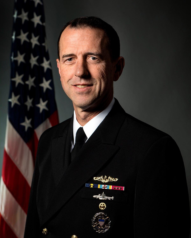John M  Richardson (admiral) - Wikipedia