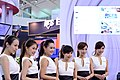 AMD promotional model at Computex 20130607b.jpg