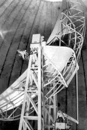 14th Test Squadron - AN/FPS-26 radar inside radome