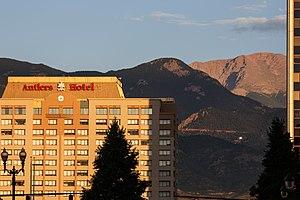 Antlers Hotel (Colorado Springs, Colorado) - The Antlers in 2016