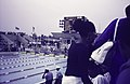ASC Leiden - Rietveld Collection - Nigeria 1970 - 1973 - 01 - 089 Pan African Games Lagos January 7-18, 1973. The swimming pool with scoreboard as seen from the stands - Lagos.jpg