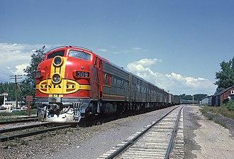 EMD F7 - Image: ATSF 309 (Flickr 22322834666)