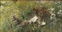 A Fox Family (Bruno Liljefors) - Nationalmuseum - 18379.tif