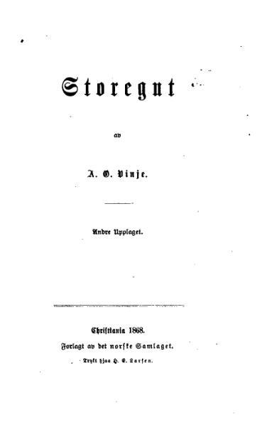 File:A O Vinje - Storegut.djvu