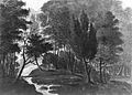A Woodland Scene (The Sun Reflecting on the Dew, a Garden Scene- Echo, Pennsylvania, A Place belonging to Mr. D. Bavarage, 1808) MET ap42.95.50.jpg