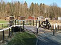 A bascule bridge over the canal - geograph.org.uk - 939735.jpg