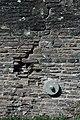 A crack in the wall, Newbridge on Usk - geograph.org.uk - 1253041.jpg