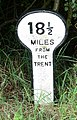 A mile marker along the Grantham Canal - geograph.org.uk - 950376.jpg