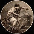 A pagan sacrifice. Sanguine stipple engraving. Wellcome V0035994.jpg