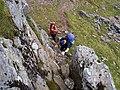 A rocky step - geograph.org.uk - 263555.jpg
